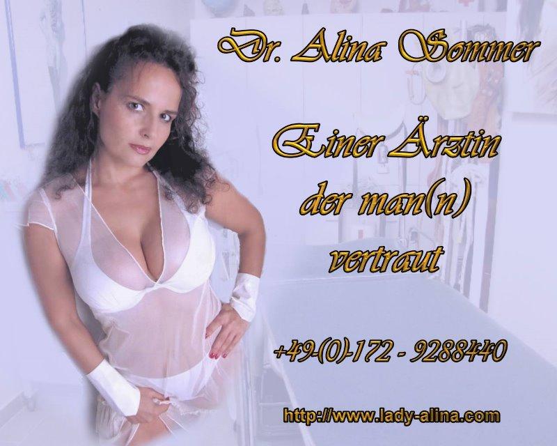 Dr. Alina Sommer   Eine Aerztin der mann vertraut - SM-Klinik-Köln